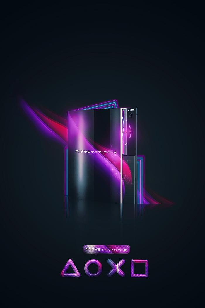 Playstation 3 by roxymanlol