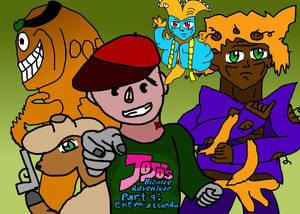 Jojo's Bizzare Adventure Part 9 Idea