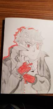 joker drawing