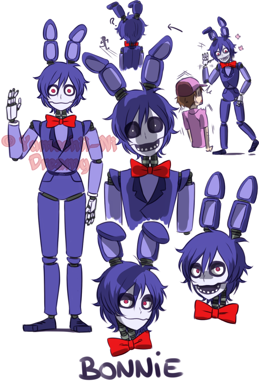 [FNAF HUMAN VERSION] Bonnie by YumeChii-NI on DeviantArt