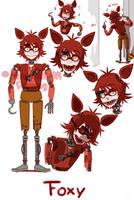 [FNAF HUMAN VERSION]  Foxy by YumeChii-NI