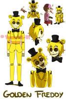 [FNAF HUMAN VERSION] Golden Freddy by YumeChii-NI