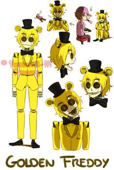 [FNAF HUMAN VERSION] Golden Freddy