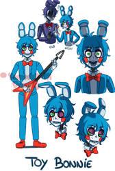 [FNAF2 HUMAN VERSION] Toy Bonnie