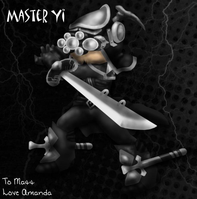 chibi master yi by fallingillusion on deviantart
