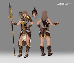 Athena by crellan00