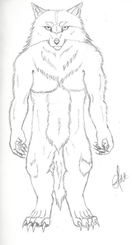 Werewolf by Antonywolf97