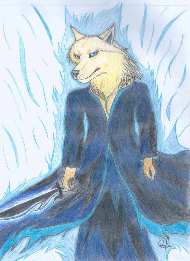 Shinigami Wolf by Antonywolf97