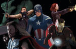 Avengers Assemble by Matryxx