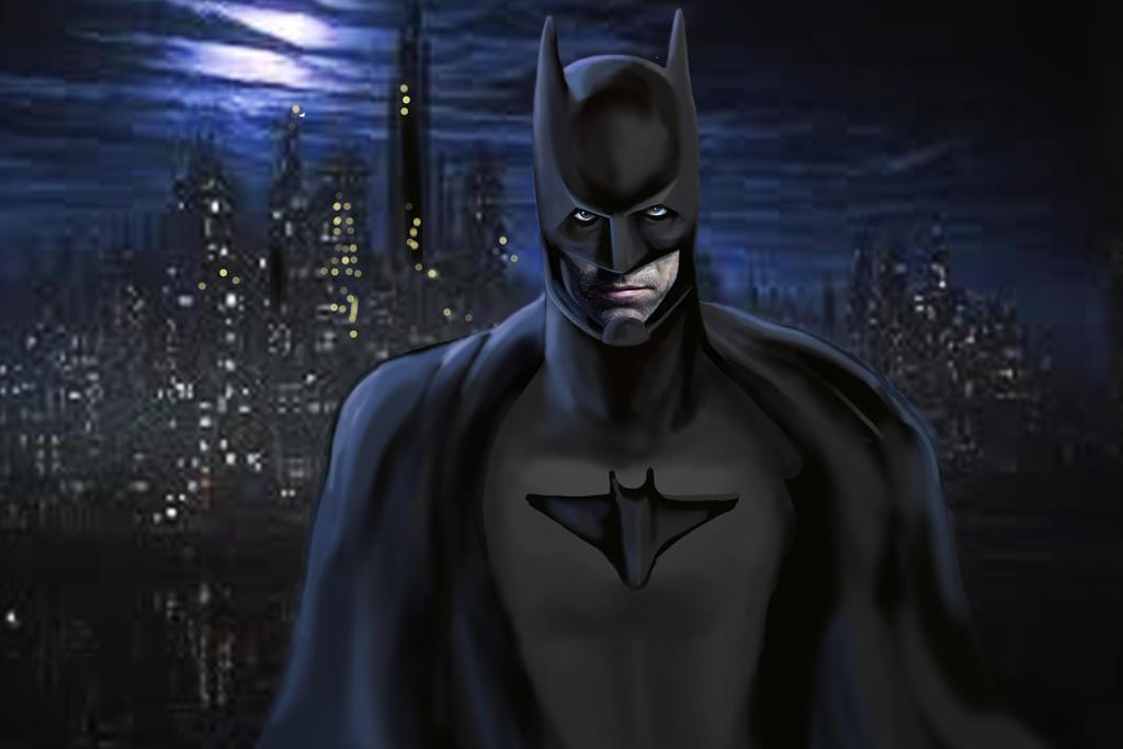 Ben affleck as batman by matryxx on deviantart - Ben affleck batman wallpaper ...