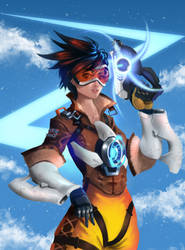 Overwatch - Tracer by CaioESantos