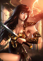 Xena the Warrior Princess by CaioESantos