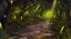 Fairy Forest by CaioESantos