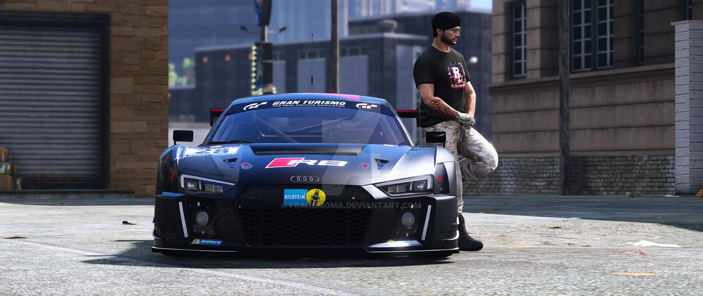 Grand Theft Auto V Mods  2016 Audi R8 LMS Typ 4S 2 by franzmoma on