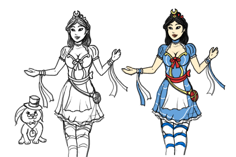 SMITE Change In Wonderland By Incognito44 On DeviantArt