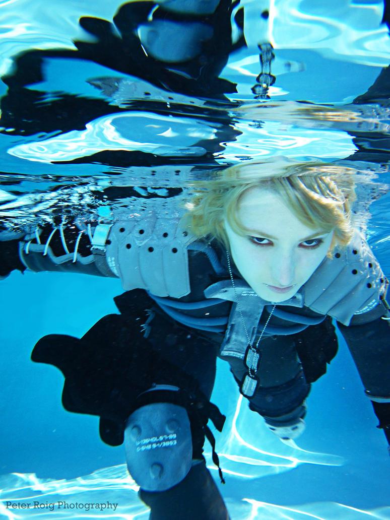 Raiden Underwater by Seeker-Moonwolf