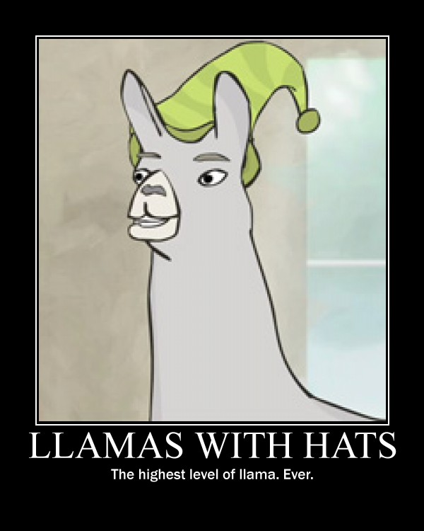Llamas With Hats By Comico Sam On Deviantart I Love How Paul Looks