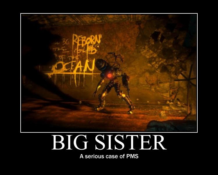 Big Sister by elektri-cute14