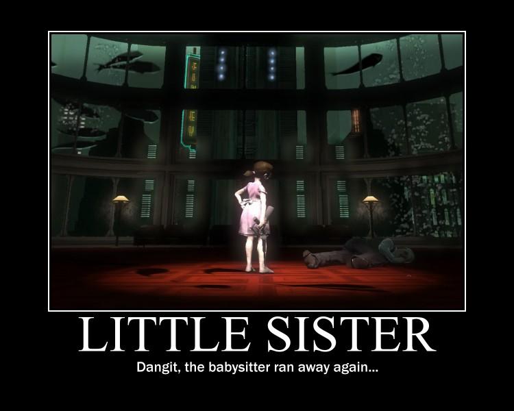 Little Sister by elektri-cute14