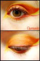 Pokemon Makeup: Charmander by Steffmiesterx13