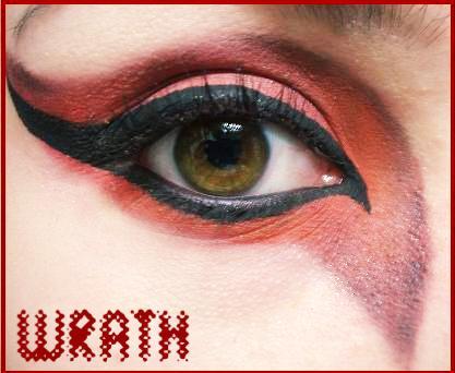 7 Deadly Sins Makeup: Wrath by Steffmiesterx13