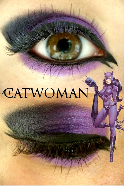 Catwoman Makeup By Steffmiesterx13 On