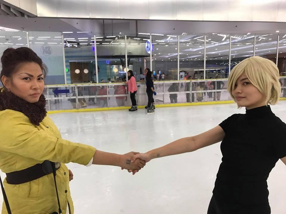 Agreement On Ice by japanesenagi