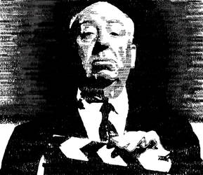 Alfred Hitchcock in text