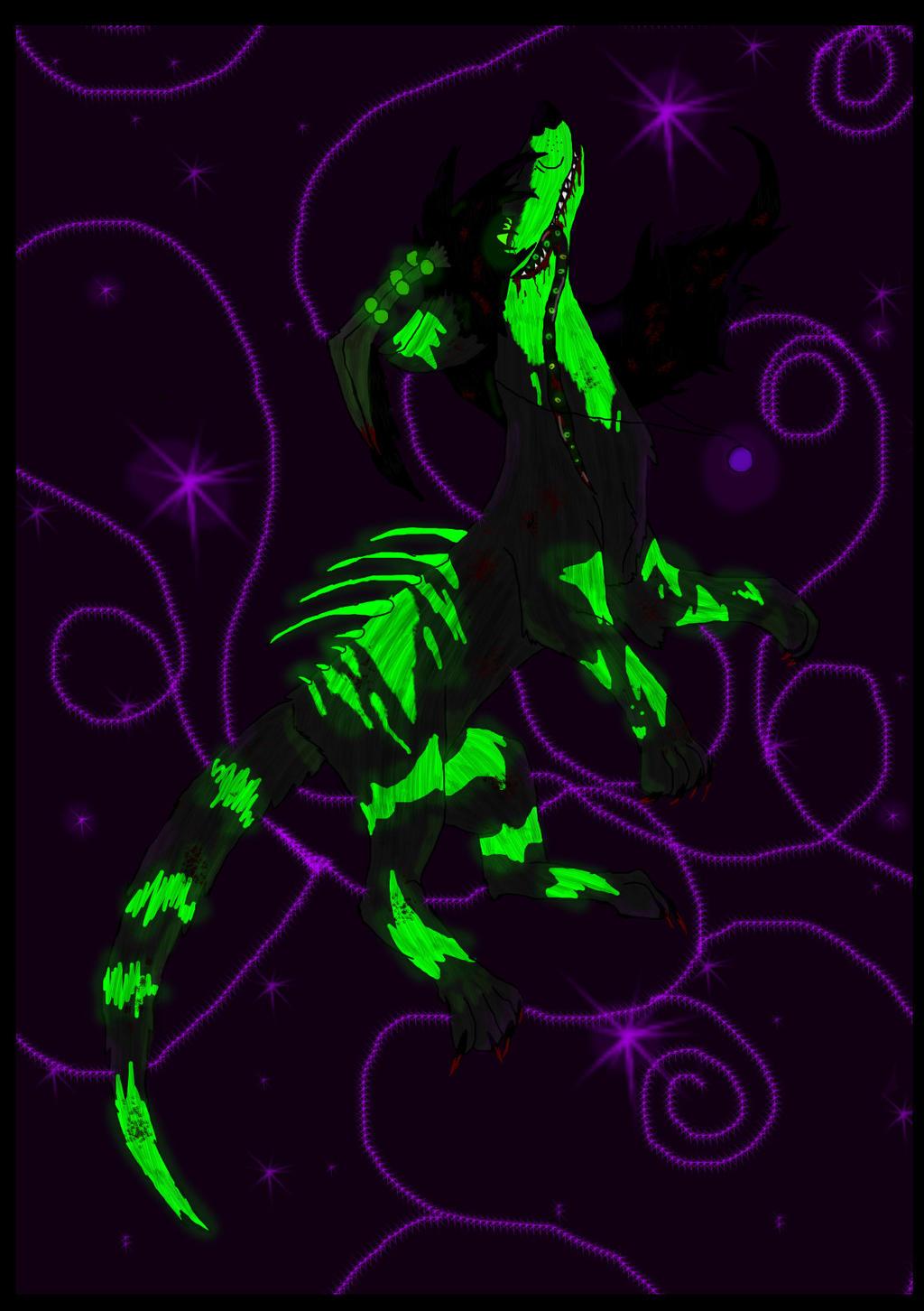 The Purple Abyss By German Shepherd Girl
