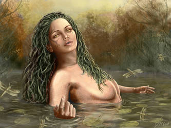 Sea Goddess Thetis by dcriler27