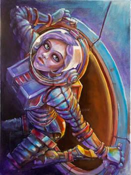 SpaceGirl Emerge