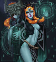 Midna, The Legend of Zelda: Twilight Princess by AnoleaNova