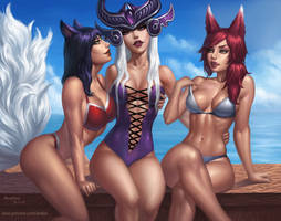 Girls of Ionia by AnoleaNova