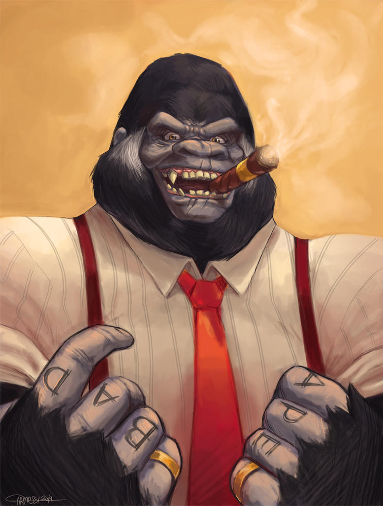 Bad Ape by Carmessi