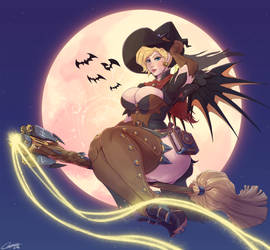 Witch Mercy by Carmessi