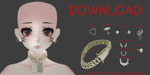 Piercing/Jewelry Pack - Download