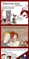 Dragon Age : Origins couple meme by Lefantoan