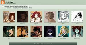 2013 in art Meme by Lefantoan