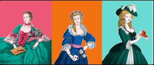 Dames de la Cour by Lefantoan