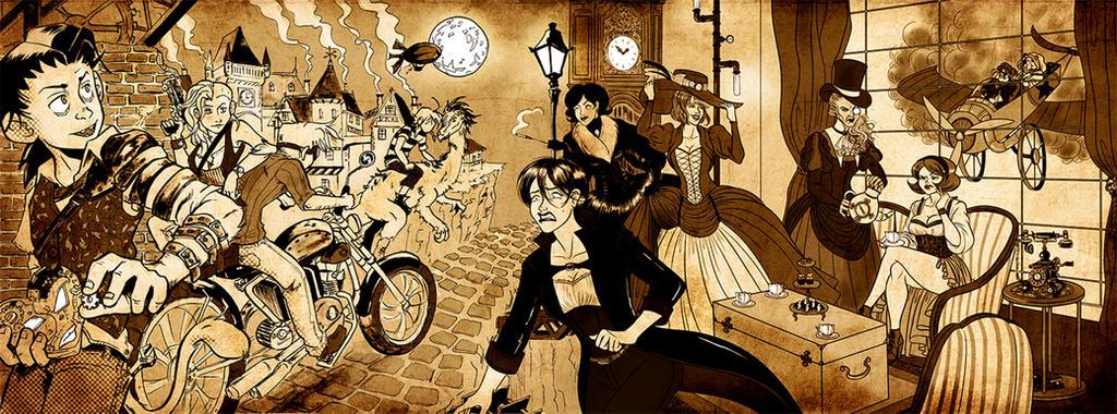Steampunk by Lefantoan