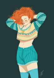 Ginger by Lefantoan