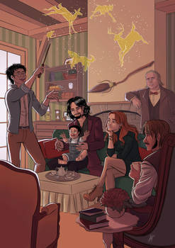 Potter's family and the Marauders
