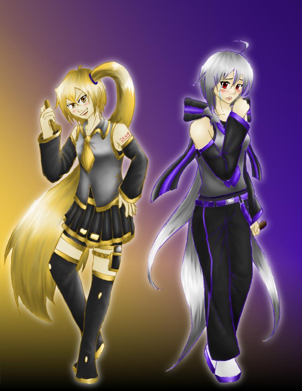 Vocaloid Neru And Haku VOCALOID - Akita Neru ...