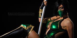 Jade's Stripper Pole Victory Pose