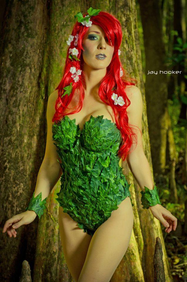 Poison Ivy (Pamela Isley) by KristenHughey