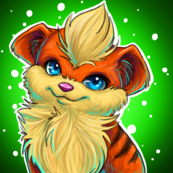 Growlithe by soulwithin465