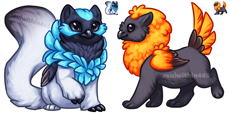 Gryphon Icons by soulwithin465