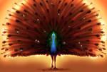 Peacock Deity
