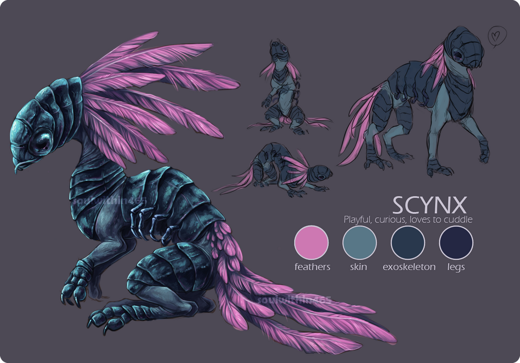 Scynx Ref by soulwithin465