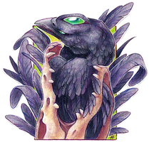ACEO Raven